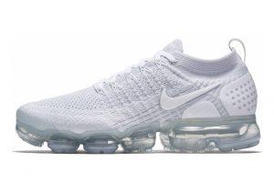 Nike Air VaporMax Flyknit 2 White, White-pure Platinum
