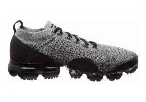 Nike Air VaporMax Flyknit 2 White/Black-Black