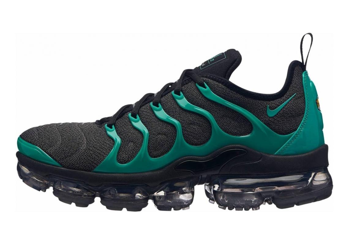 Nike Air VaporMax Plus Black/Clear Emerald/Cool Grey/Dark Grey