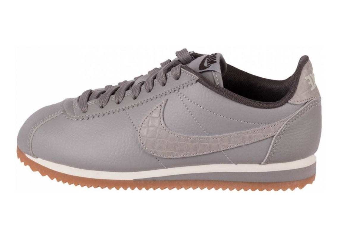 Nike Classic Cortez Leather Lux Grau