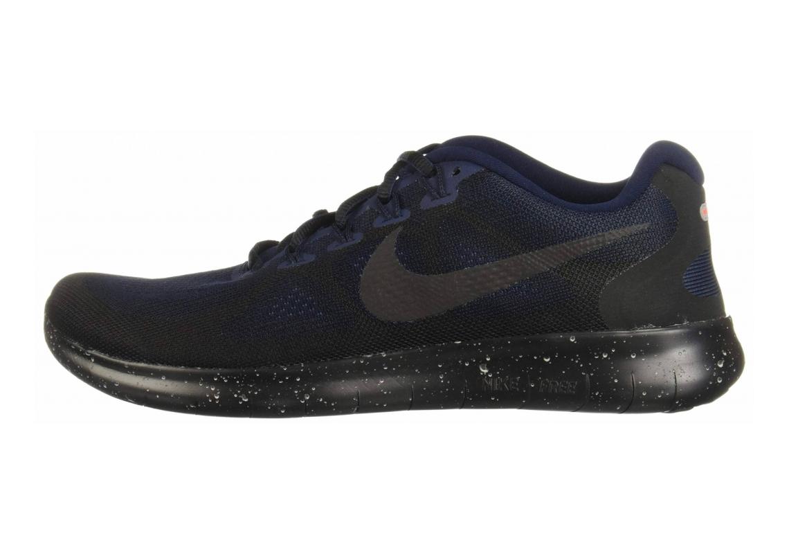 Nike Free RN 2017 Shield Black / Black-Black-Obsidian