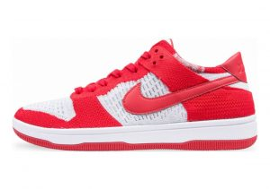 Nike Dunk Low Flyknit Red