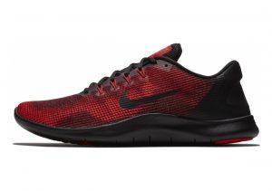 Nike Flex RN 2018 Multicolore (Black/Black/University Red/Team Red 001)