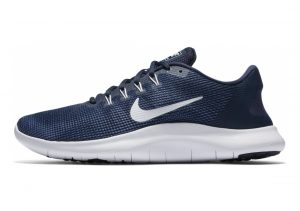 Nike Flex RN 2018 Blue (Midnight Navy/White/Blue Recall 400)