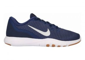 Nike Flex Trainer 7 Navy/Metallic Silver