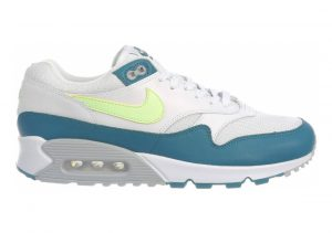 Nike Air Max 90/1 White/Lime Blast/Wolf Grey/Geode Teal