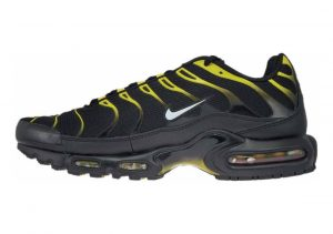 Nike Air Max Plus Black (Black/White-vivid Sulfur 020)