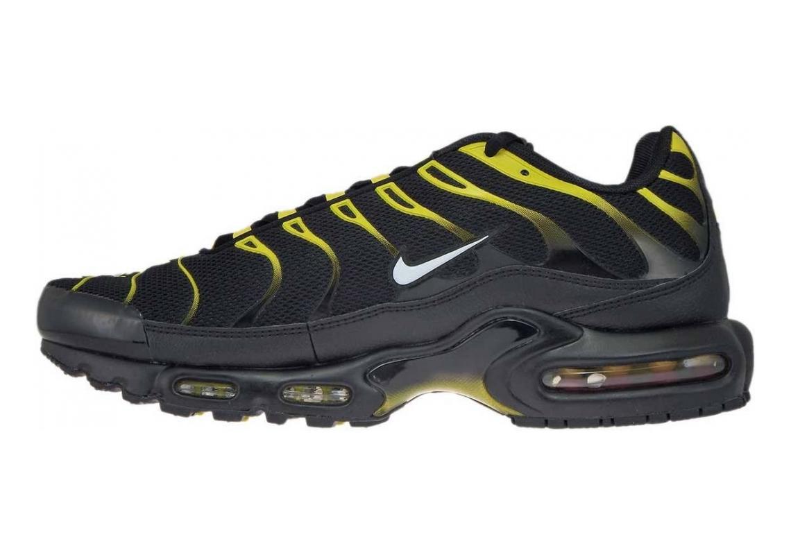 Nike Air Max Plus Black (Black/White-vivid Sulfur 020)