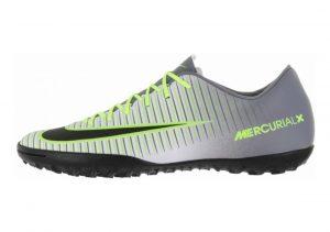 Nike MercurialX Victory VI Turf Argento (Pure Platinum/Black-ghost Green)