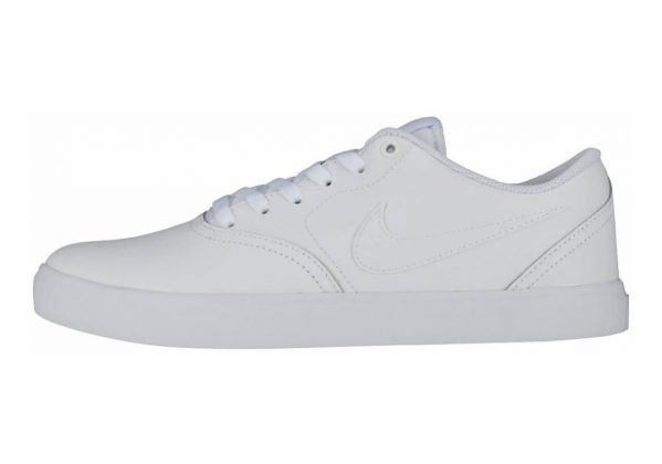 Nike SB Check Solarsoft Bianco (White/White-vast Grey 102)