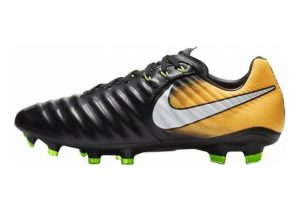 Nike Tiempo Legend VII Pro Firm Ground Black (Black/White-Laser Orange-Volt)