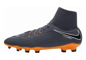 Nike Hypervenom Phantom III DF Academy Firm Ground Dark Grey/Total Orange/White