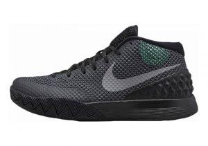 Nike Kyrie 1 Blk, Rflct Slvr-drk Gry-grn Glw
