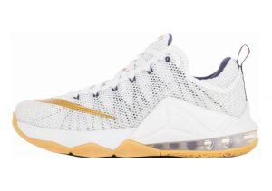 Nike LeBron XII Low White