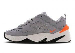 Nike M2K Tekno Atmosphere Grey Phantom Total Orange