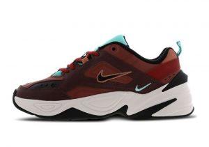 Nike M2K Tekno Mahogany Mink Burnt Orange Blush