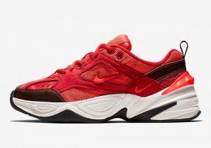 Nike M2K Tekno Red