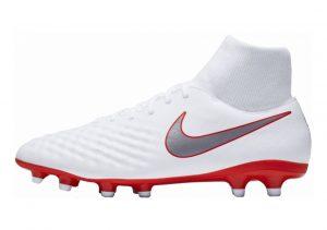 Nike Magista Obra II Academy Dynamic Fit Firm Ground White