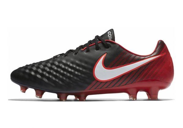 Nike Magista Obra II Elite Firm Ground Black, White, University Red