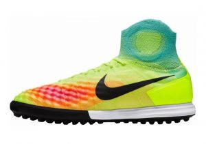 Nike MagistaX Proximo II Turf Amarillo (Volt / Black-hyper Turq-total Orange)