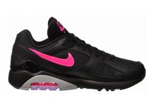 Nike Air Max 180 Black, Pink Blast-wolf Grey