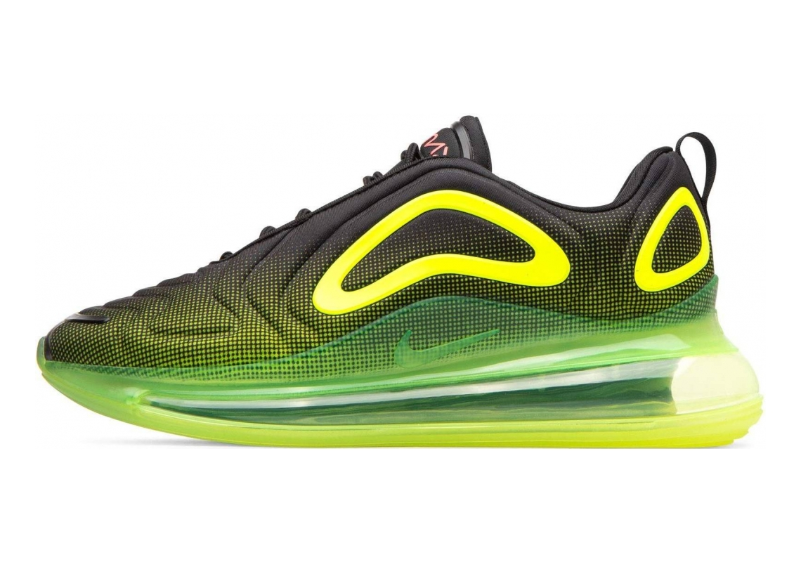 Nike Air Max 720 Black/Bright Crimson/Volt