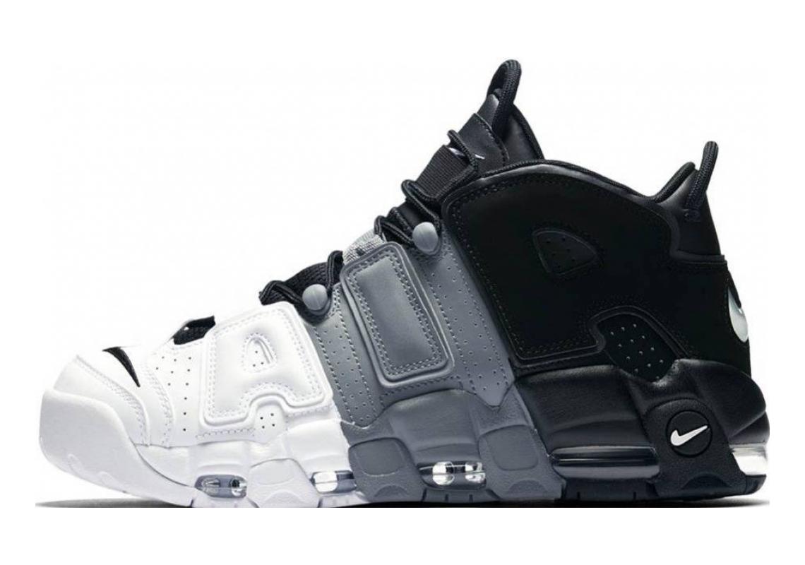Nike Air More Uptempo Black, Black-cool Grey-white
