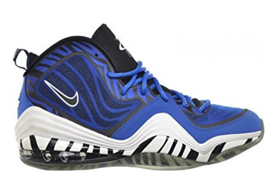 Nike Air Penny V Royal Blue, Black-white