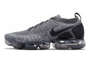 Nike Air VaporMax Flyknit 2 Dark Grey, Black-wolf Grey