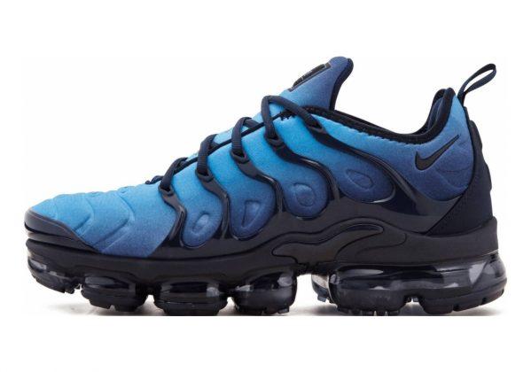 Nike Air VaporMax Plus black, chamois-hyper blue