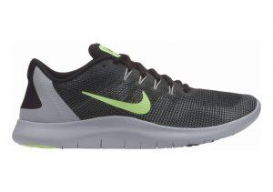 Nike Flex RN 2018 Black/Lime Blast/Cool Grey