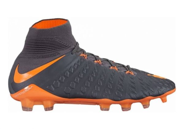 Nike Hypervenom Phantom III Elite DF Firm Ground Grey