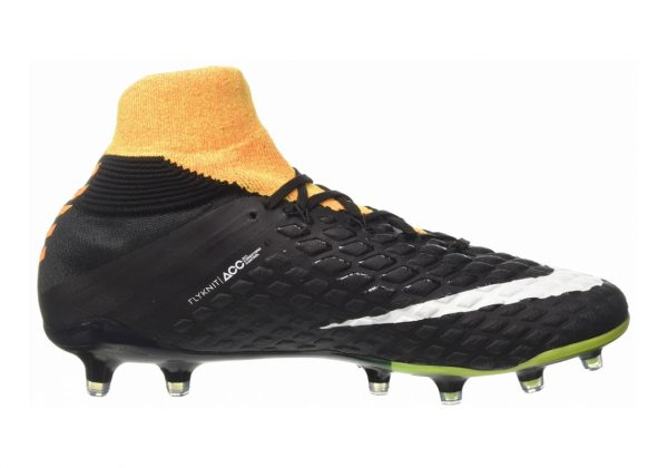 Nike Hypervenom Phantom III Elite DF Firm Ground Laser Orange, Svart, Volt, Vit
