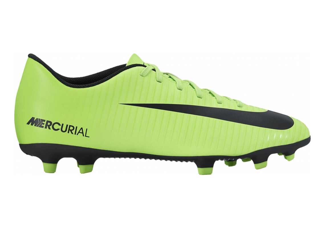Nike Mercurial Vortex III Firm Ground Electric Green/Black