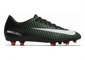 Nike Mercurial Vortex III Firm Ground (014) Black/White - Paramount Blue