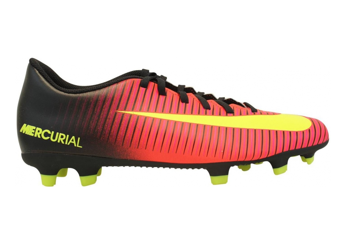 Nike Mercurial Vortex III Firm Ground Red