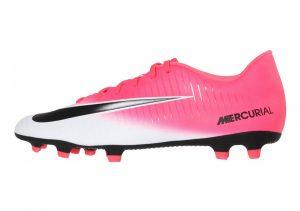 Nike Mercurial Vortex III Firm Ground Pink (Racer Pink/Black/White)