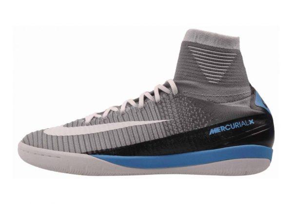 Nike MercurialX Proximo II Indoor Wolf Grey/White-Pure Platinum