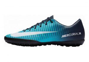 Nike MercurialX Victory VI Turf Obsidian/White/Gamma Blue