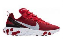 Nike React Element 55 Gym Red/ Wolf Grey-White-Black