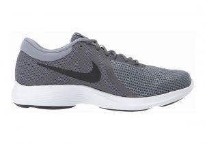 Nike Revolution 4 Dark Grey/Black - Dark Grey - White