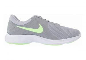 Nike Revolution 4 Wolf Grey/Barely Volt-stealth