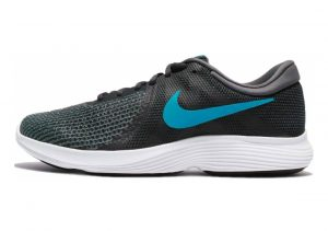 Nike Revolution 4 Anthracite/Lt Blue Fury Dk Gry