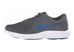 Nike Revolution 4 Dark Grey/Gym Blue - Anthracite