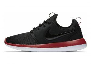 Nike Roshe Two Schwarz (Black/Gym Red/White/Black)