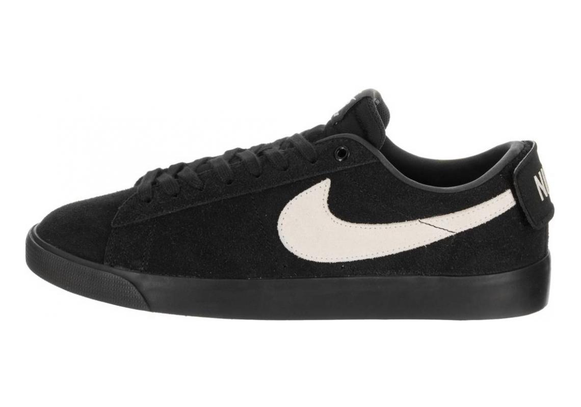 Nike SB Air Zoom Blazer Low GT Black/White Black