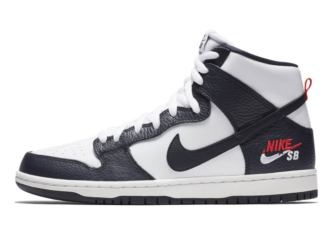 Nike SB Dunk High Pro OBSIDIAN / OBSIDIAN-WHITE