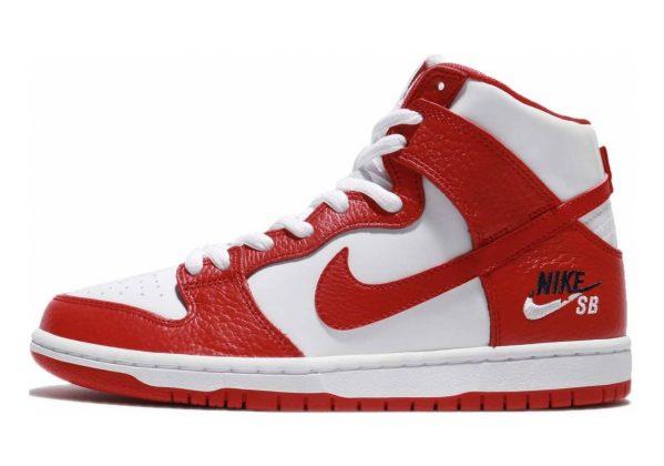 Nike SB Dunk High Pro Red