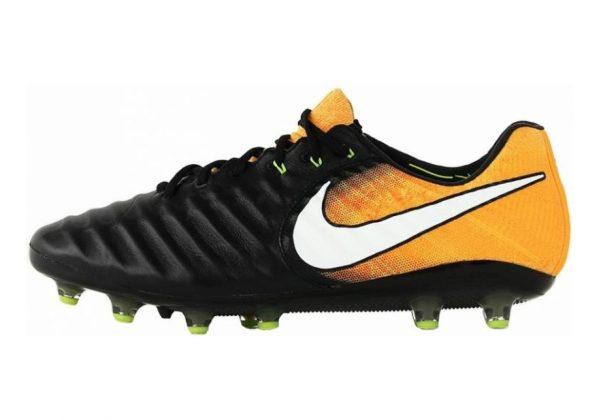 Nike Tiempo Legend VII AG-Pro Artificial Grass Black (Black/White-laser Orange-volt-black)