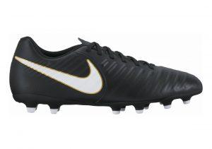 Nike Tiempo Rio IV Firm Ground Black/White